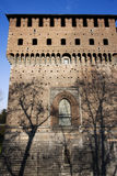 Castello sforzesco Royalty Free Stock Photos