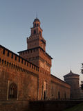 Castello Sforzesco Obraz Stock