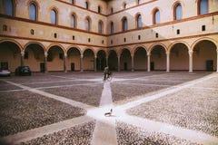Castello Sforzesco 免版税库存图片