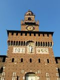 Castello Sforzesco Obrazy Stock