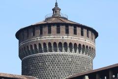 Castello Sforzesco Imágenes de archivo libres de regalías