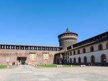 Castello Sforzesco Photo stock