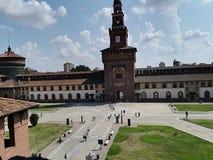 Castello Sforzesco Stockfoto