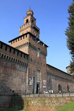 Castello Sforzesco di MIlano Stock Images