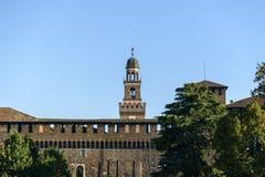 Castello Sforzesco (Mailand, Italien) Stockfoto
