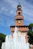 Castello Sforzesco Royalty Free Stock Photo