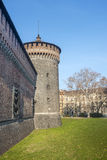 Castello Sforzesco, Milan Stock Photos