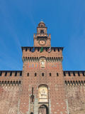 Castello Sforzesco, Milan Stock Image