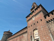 Castello Sforzesco, Milan Royalty Free Stock Image