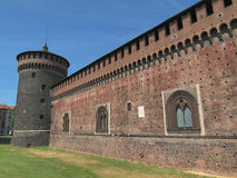 Castello Sforzesco, Milan Royalty Free Stock Photos