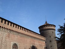 Castello sforzesco - Milan Royalty Free Stock Photos