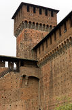 Castello sforzesco in milan Royalty Free Stock Photos