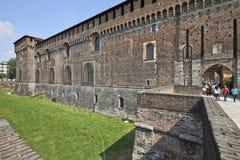 Castello Sforzesco in Milan, Italy Royalty Free Stock Photo