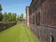 Castello Sforzesco Milan Stock Photography