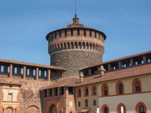 Castello Sforzesco Milan Royalty Free Stock Image