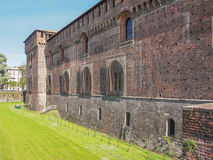 Castello Sforzesco Milan Stock Photo