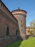 Castello Sforzesco Milan Stock Photos