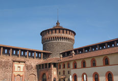 Castello Sforzesco Milan Stock Images