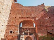 Castello Sforzesco Milan Stock Images
