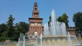 Castello Sforzesco Milano royalty free stock photography