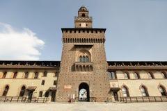 Castello Sforzesco / Sforza Castle Stock Photography