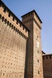 Castello Sforzesco Sforza Castle in Milan, Lombardy, Italy, 13 Stock Image
