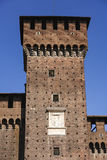 Castello Sforzesco Sforza Castle in Milan, Lombardy, Italy, 13 Royalty Free Stock Photo