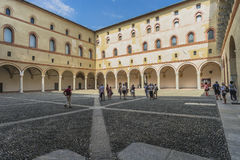 Sforza Castle in Milan, Italy Royalty Free Stock Photography
