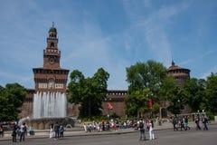 Castello Sforzesco Stock Photography