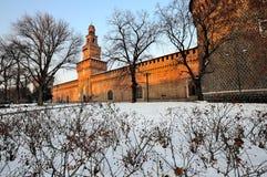 Castello Sfozesco - Milan - Italy Royalty Free Stock Images