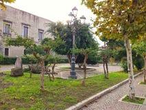 Castello siciliano Immagini Stock