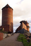 Castello in Sigulda Fotografia Stock