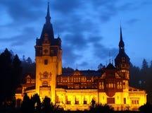 Castello Sinaia Romania di Peles Immagini Stock Libere da Diritti