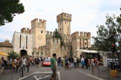 Castello Sirmione di Scaliger Immagini Stock Libere da Diritti