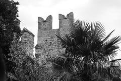 Castello Sirmione di Scaliger Immagine Stock Libera da Diritti