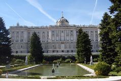 Castello spagnolo immagine stock libera da diritti