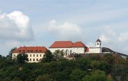 Castello Spilberk a Brno fotografia stock libera da diritti