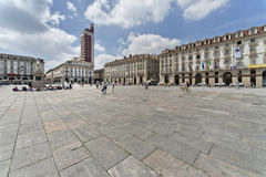 Castello square, Turin, Italy Royalty Free Stock Photography