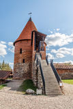 Castello storico di Kaunas fotografie stock libere da diritti