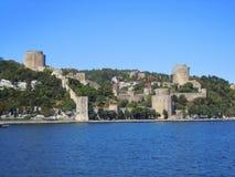 Castello storico in Turchia Fotografia Stock