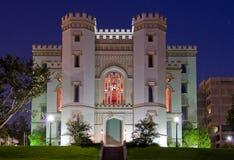 Castello sul fiume Immagine Stock