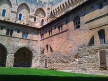 Castello sul verde Immagine Stock Libera da Diritti