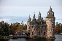 Castello sull'isola del cuore Fotografia Stock Libera da Diritti