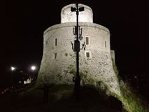 Castello sulla collina Immagini Stock
