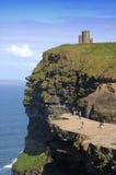 Castello sulla scogliera Fotografie Stock