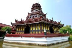 Castello tailandese Fotografia Stock