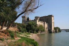 Castello in Tarrascon, Francia Immagine Stock Libera da Diritti