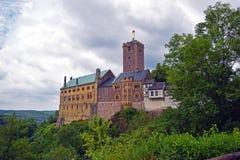Castello tedesco di Eisenach Wartburg della città immagine stock libera da diritti