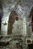 Castello templar del cavaliere di acro, Fotografia Stock