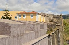 Castello in Terceira, Azzorre fotografie stock libere da diritti
